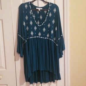Super soft knit blouse